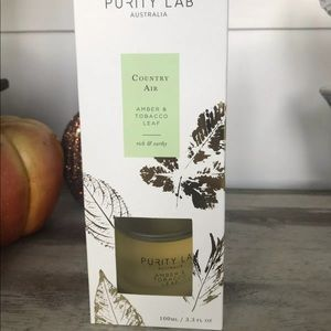 Purity Lab Amber & Tobacco Leaf reed diffuser